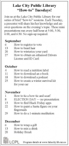 how-tuesdays-schedule